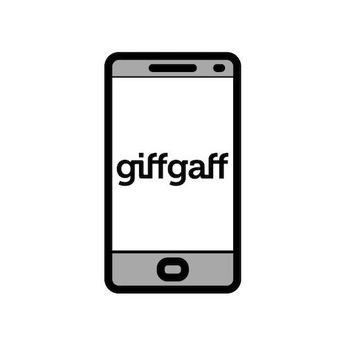 Sieć komórkowa giffgaff w uk
